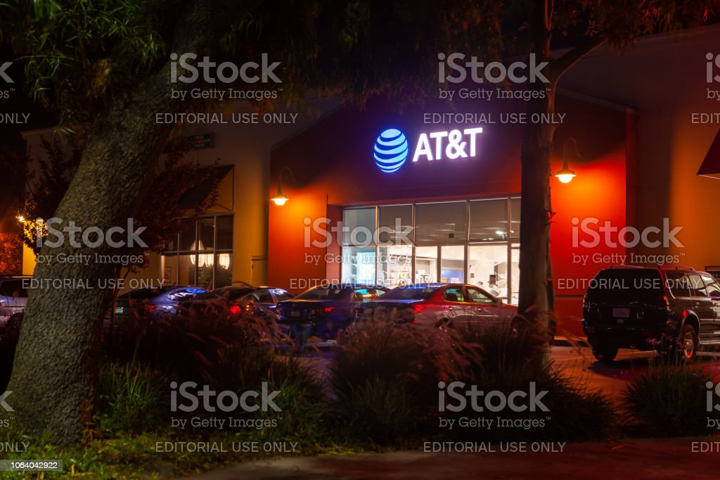 AT&T Office stock photo