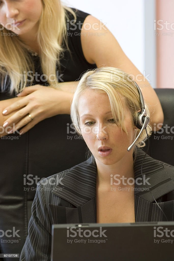 office royalty-free stock photo