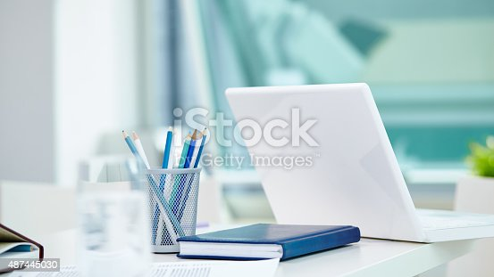 istock Office place 487445030