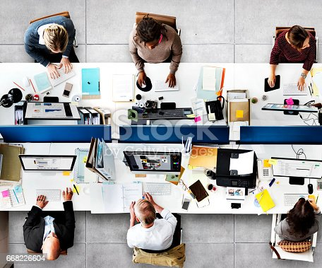 istock Office Professional Occupation Business Corporate Concept 668226604