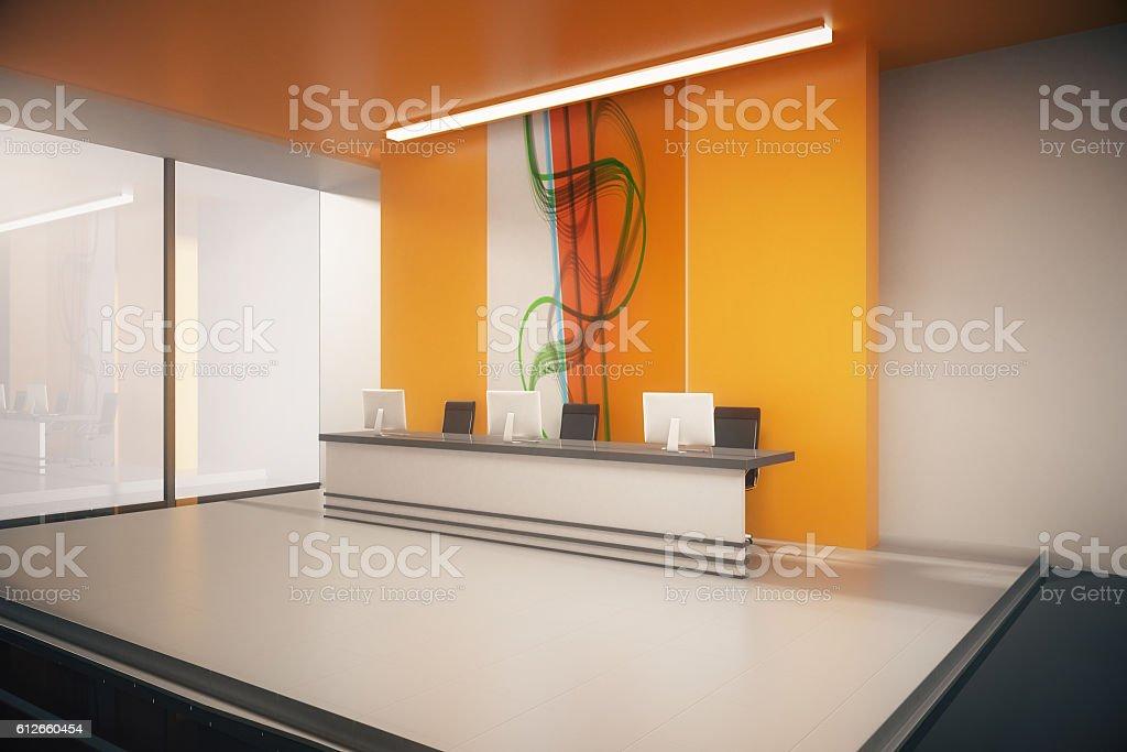 Büro-Empfang  – Foto