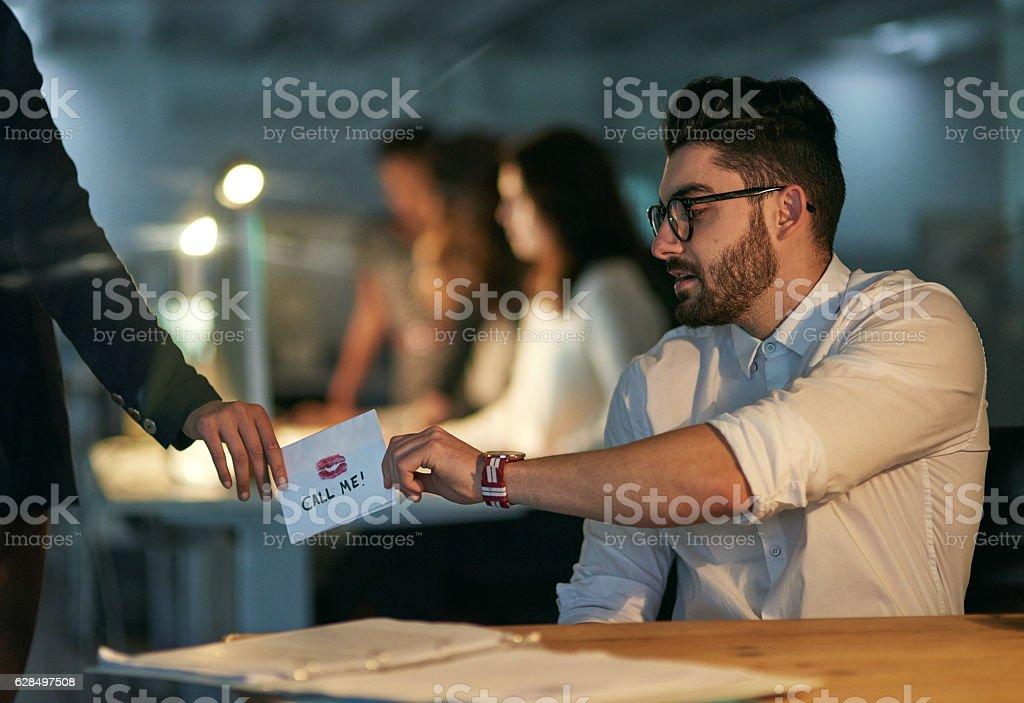 Flirten mit arbeitskollegen