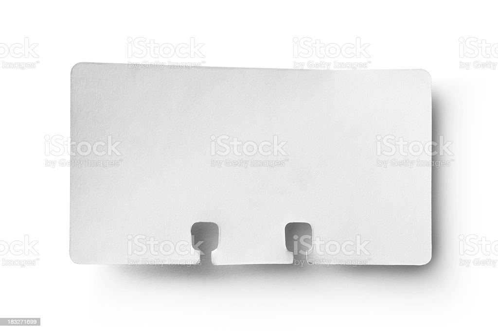 Office: Rotary Card royalty-free stock photo