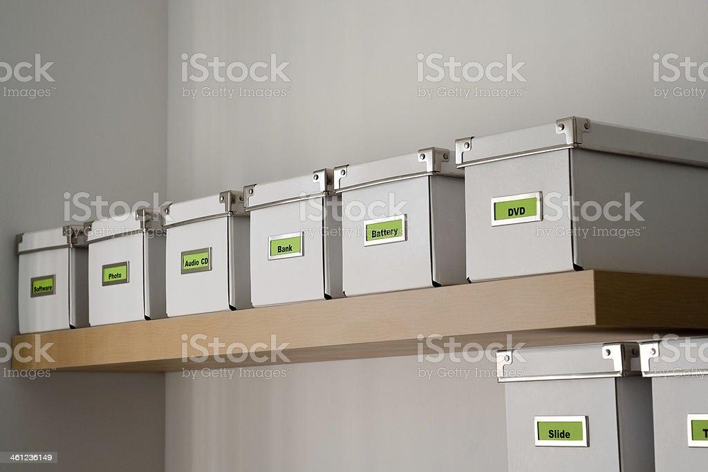 Office Shelf stock photo