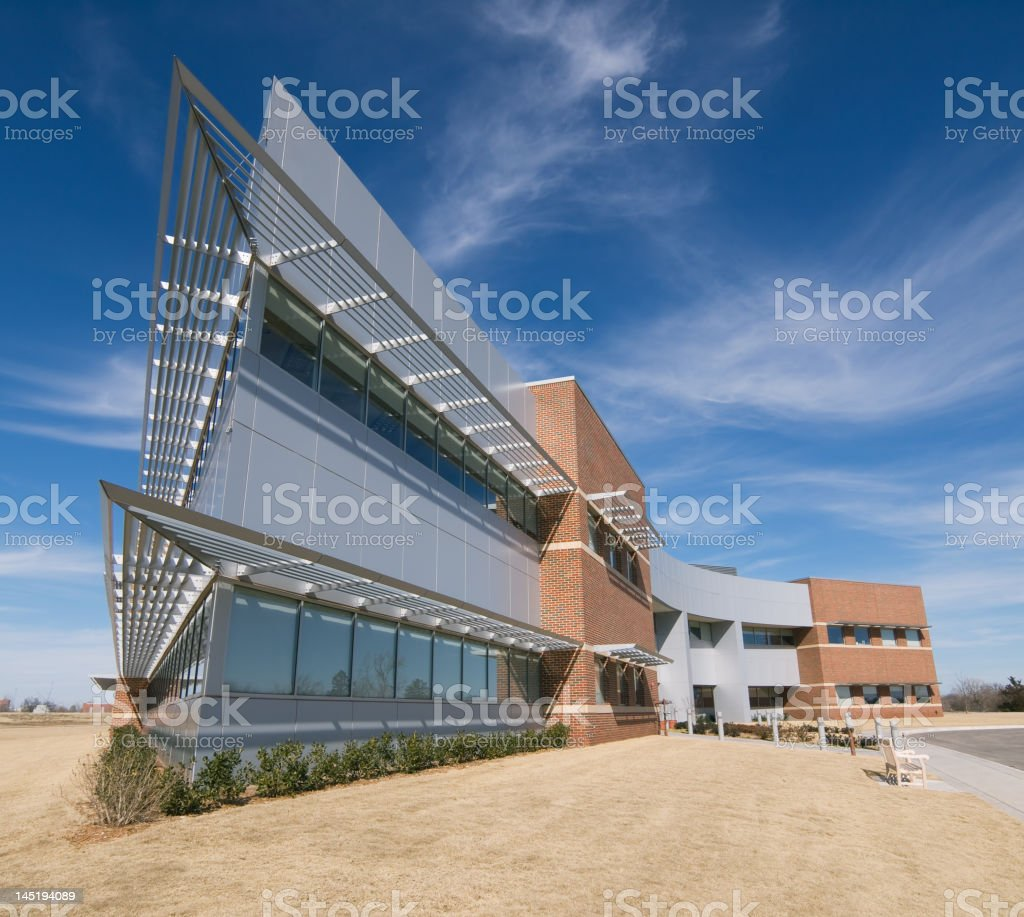 Office ship stock photo