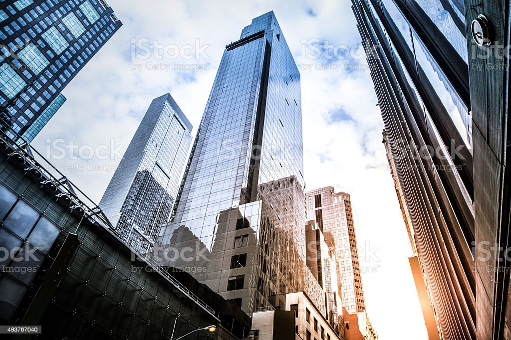Office skyscraper stock photo