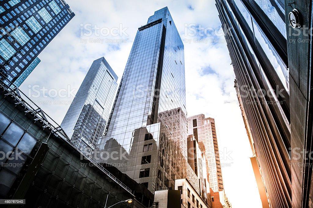 Rascacielos de oficina - foto de stock