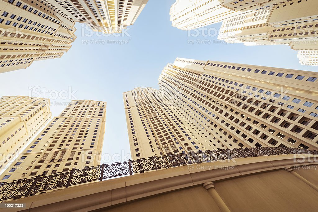 Office skysraper in Dubai royalty-free stock photo