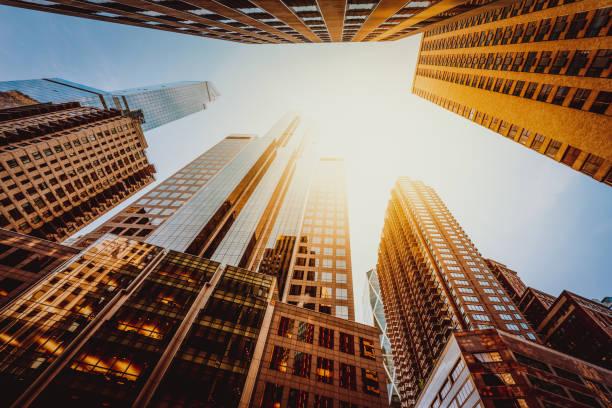 Büroskysraper in New York City – Foto