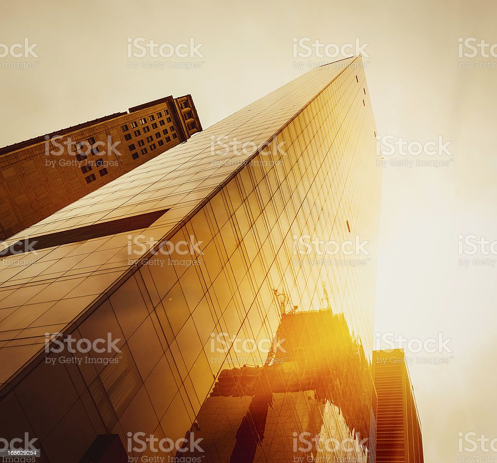 Office skysraper in New York City stock photo