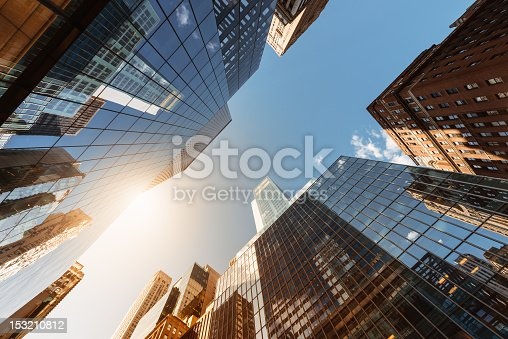 istock Office skysraper in the sun 153210812