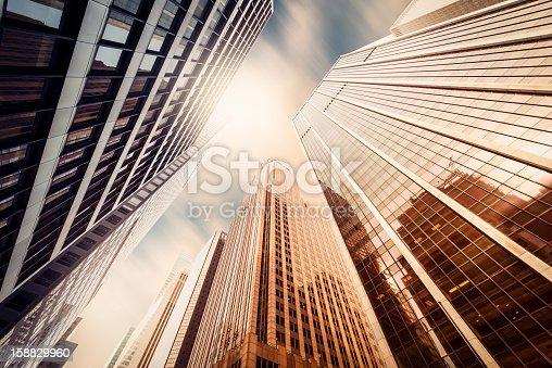 istock Office skysraper in the sun 158829960