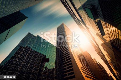istock Office skysraper in the sun 168482346