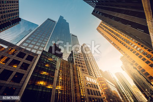 istock Office skysraper in the sun 523875332