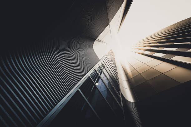 office skysrapers i solen - fönsterrad bildbanksfoton och bilder