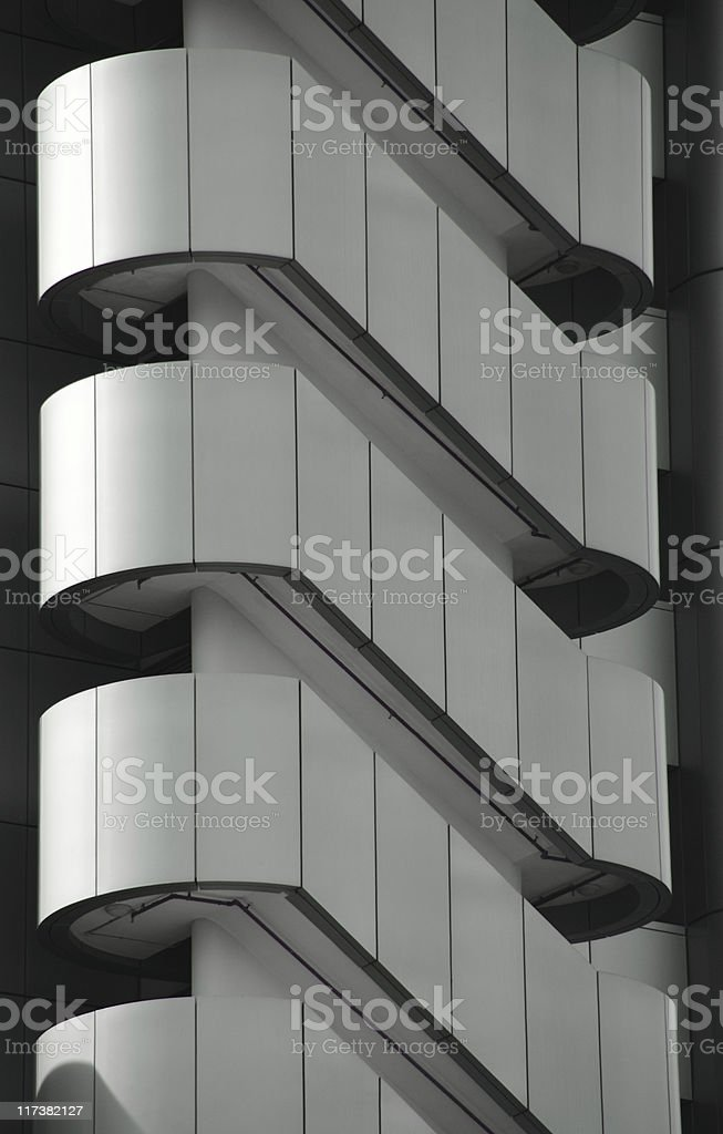Office staircase royalty-free stock photo