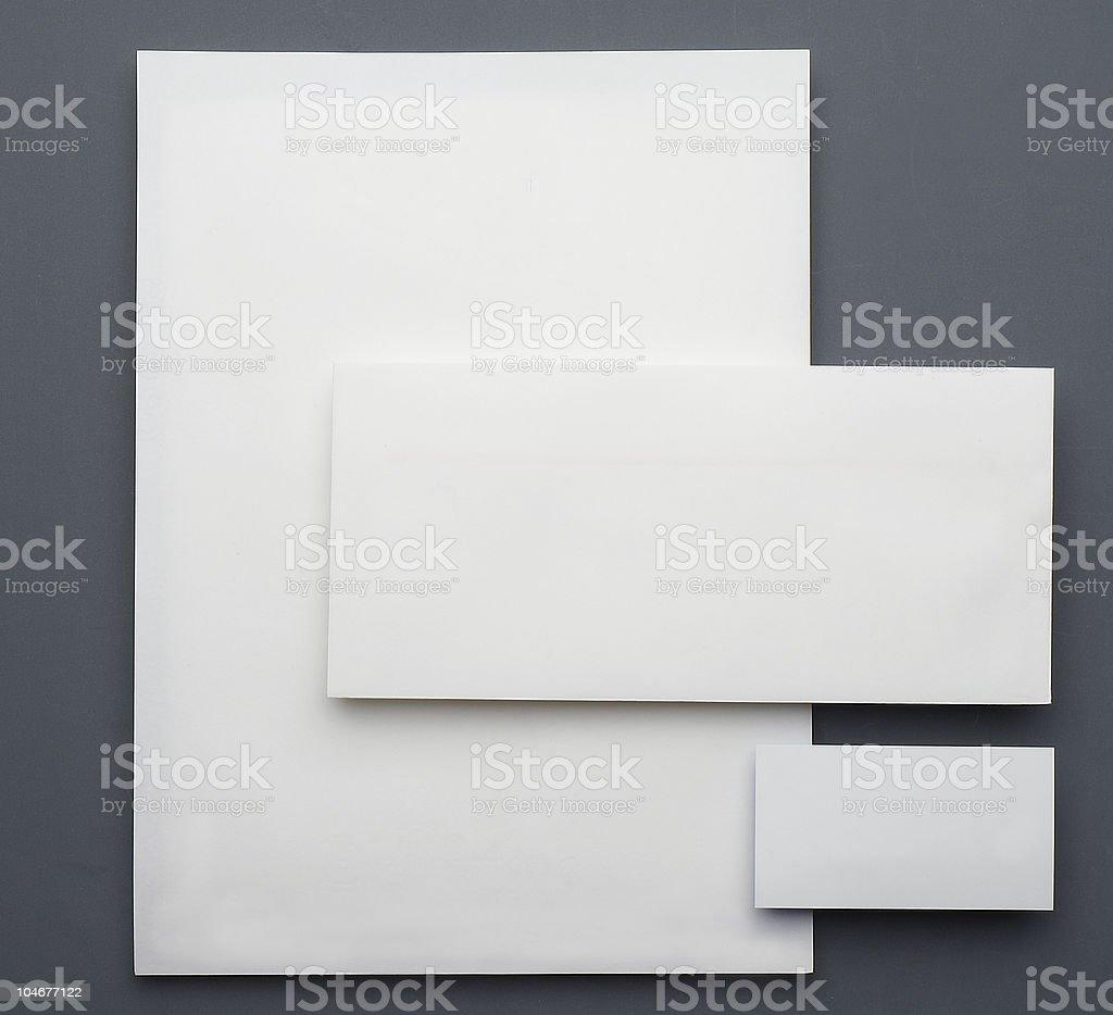 office stationery stock photo