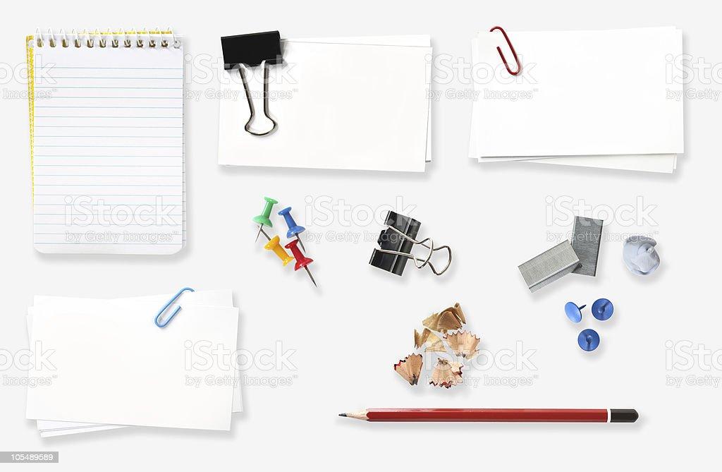 Office Stationery royalty-free stock photo