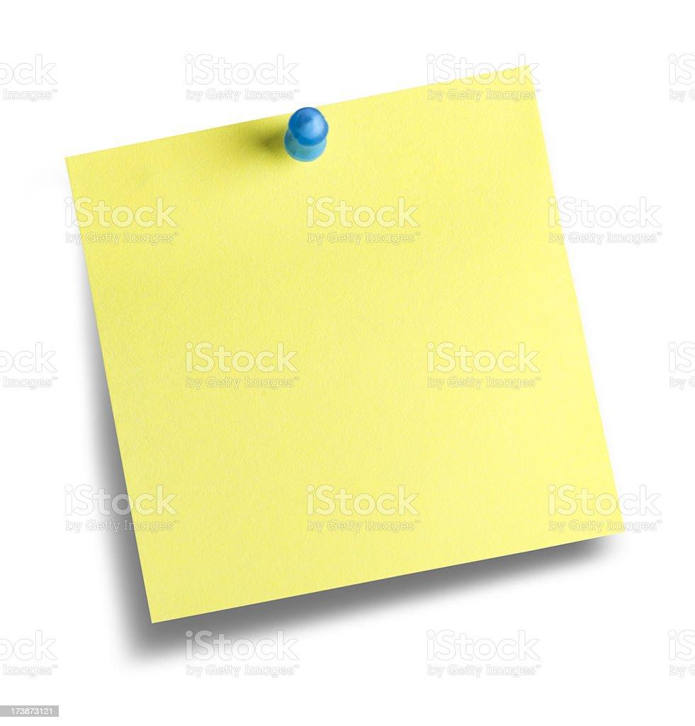Office sticky note royalty-free stock photo