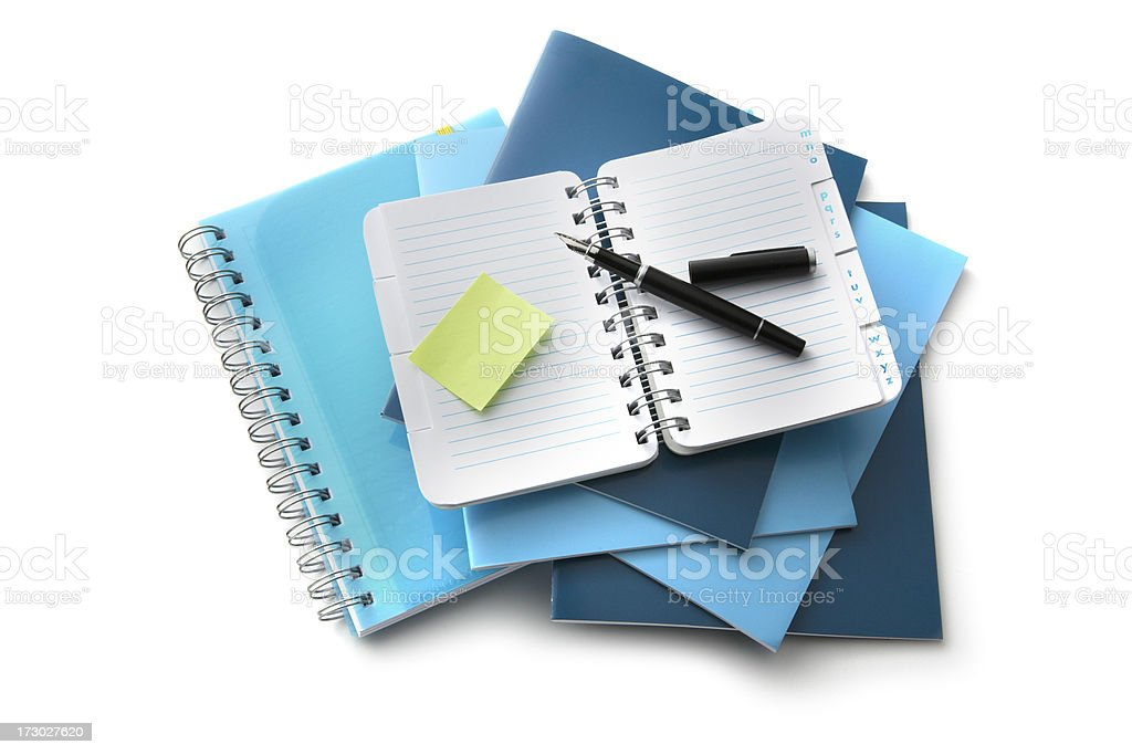 Office: Supplies royalty-free stock photo