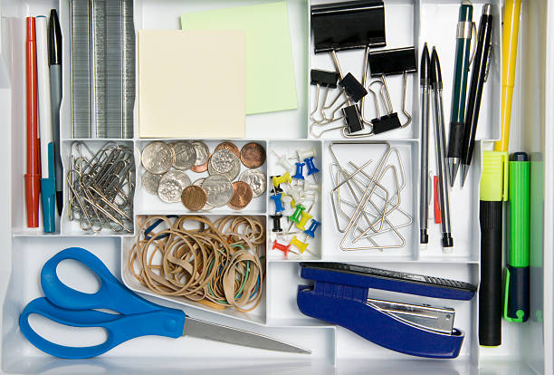 office supply drawer - 整齊 個照片及圖片檔