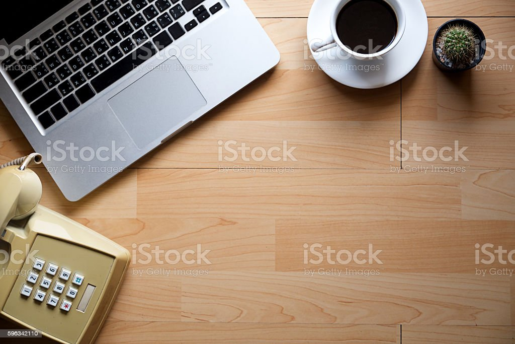 Office table. royalty-free stock photo