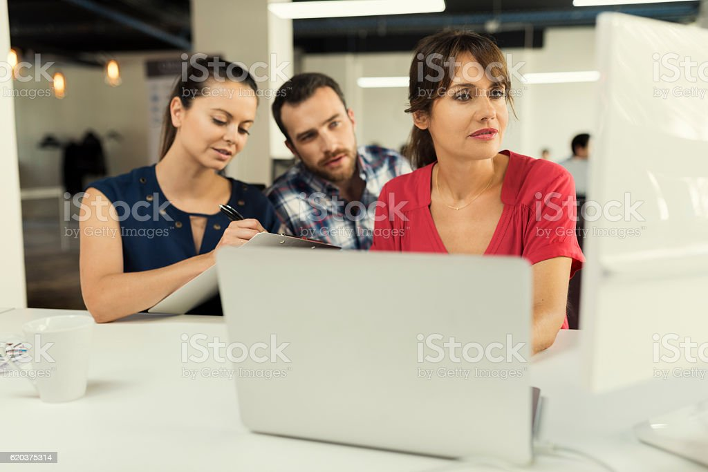 Office team. Group of people on business meeting in startup foto de stock royalty-free