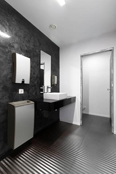 Büro-Toilette – Foto