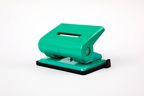 Office tool: Hole Puncher stock photo