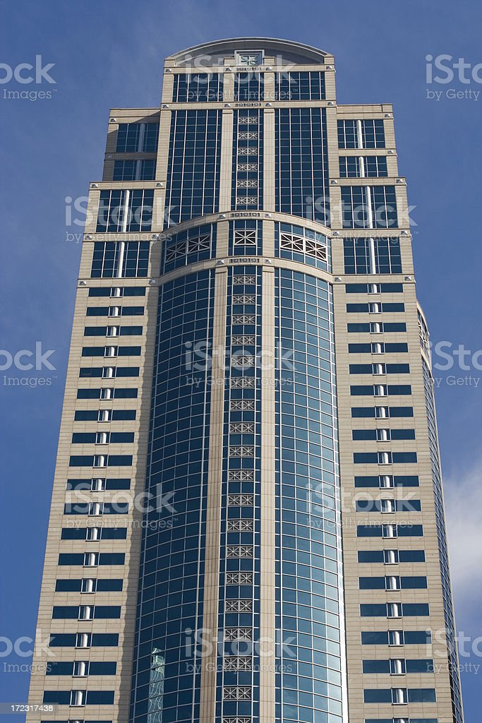 Office tower in Seattle royalty-free stock photo