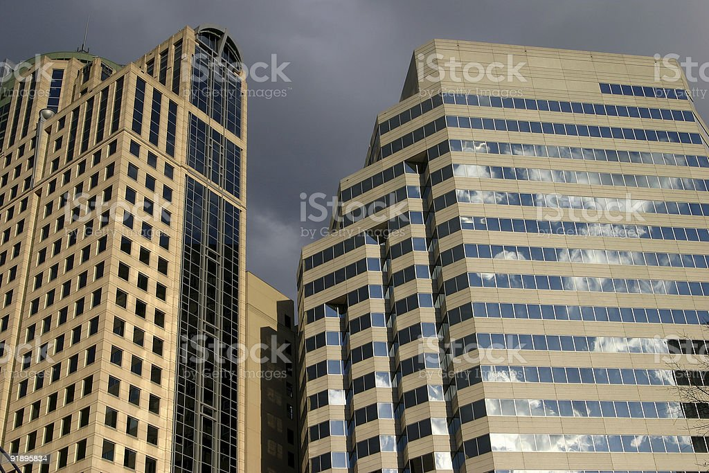 Office Towers royalty-free stock photo