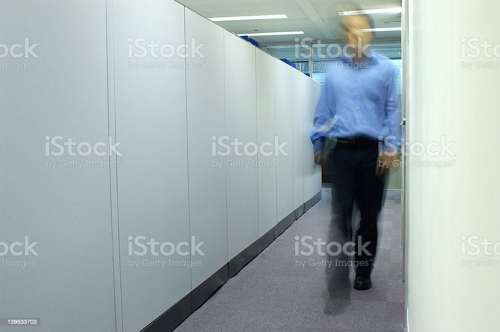 Office walk -  series royalty-free stock photo