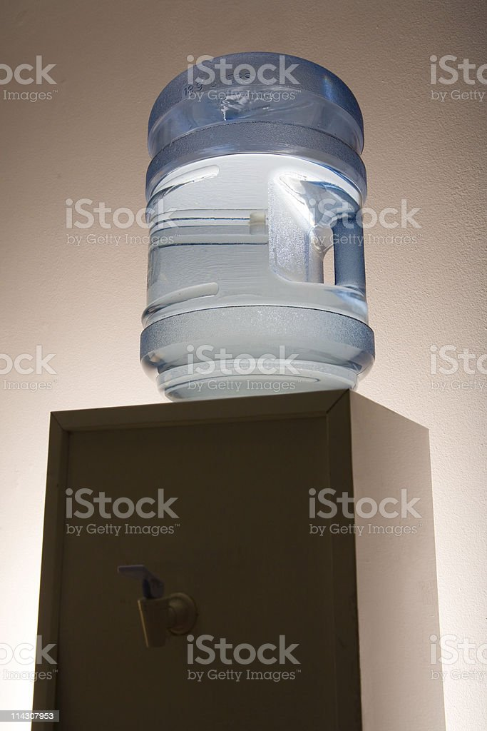 Office water-cooler royalty-free stock photo