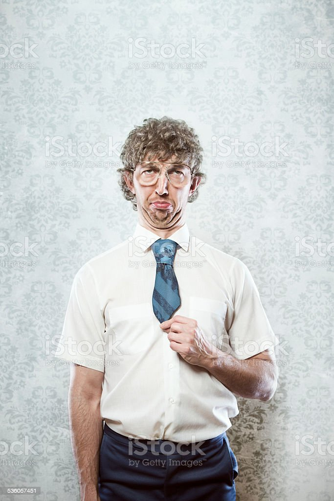 Office Wear Failure Man stock photo