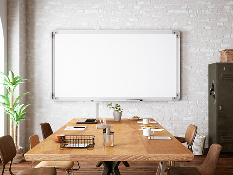 Office with White Board