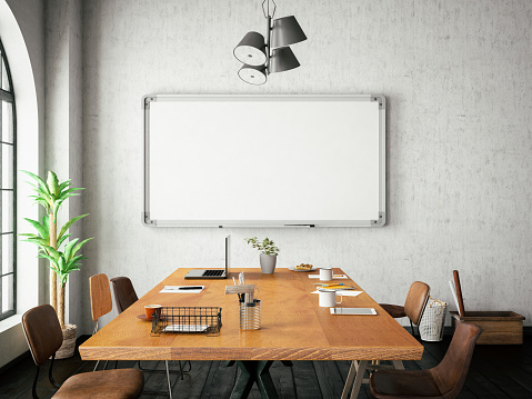 istock Office with White Board 966934994