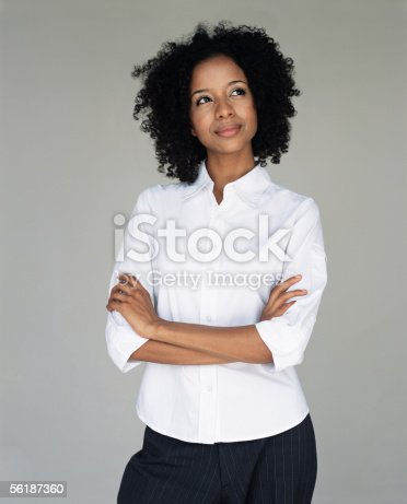 istock Office worker daydreaming 56187360