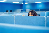 istock Office Worker Hiding 166231644
