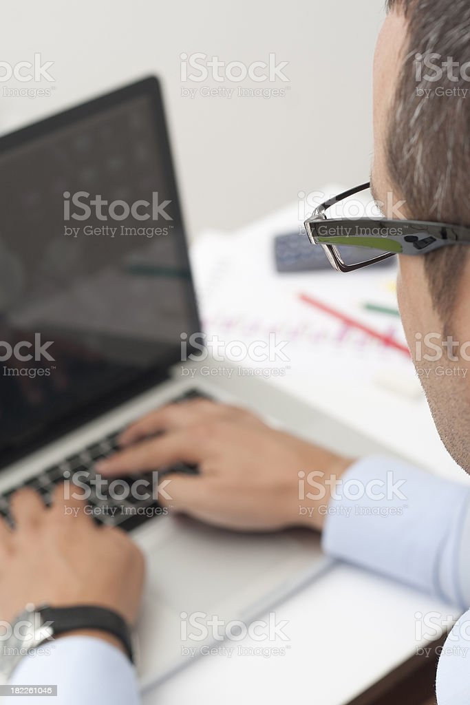 office worker royalty-free stock photo