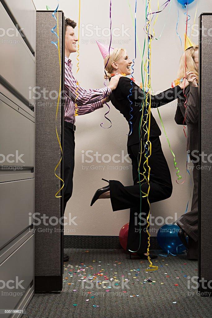 Büro Arbeitnehmer bei den conga – Foto