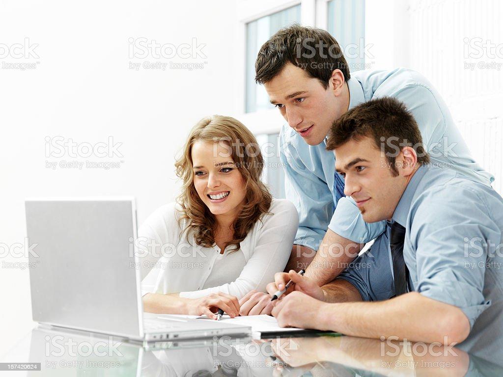 Büro Arbeitnehmer Lizenzfreies stock-foto