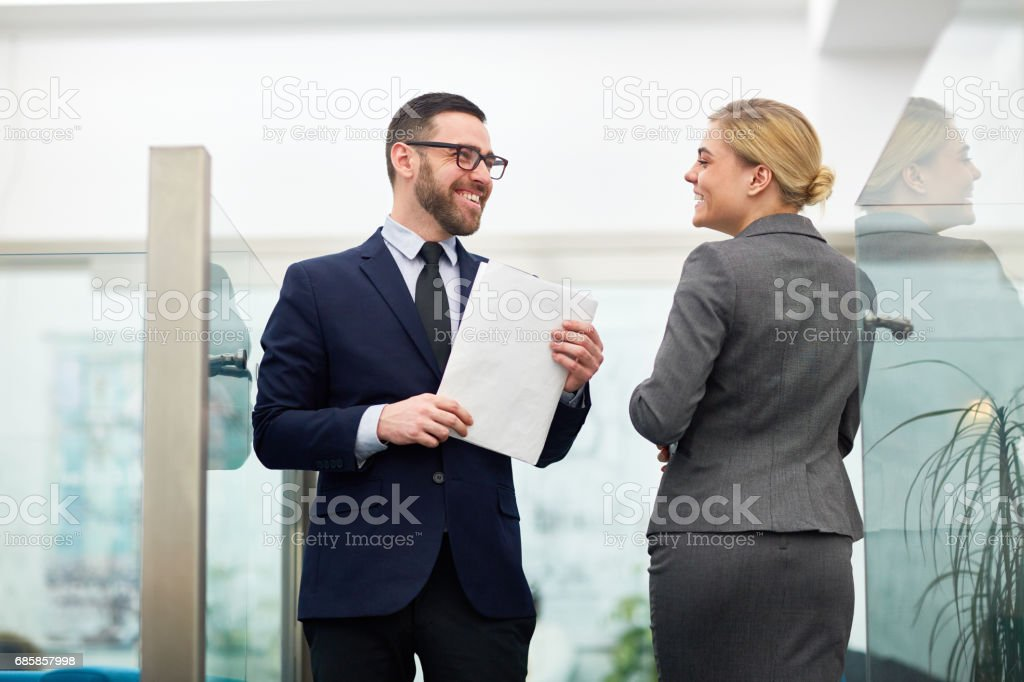 Office workers stock photo