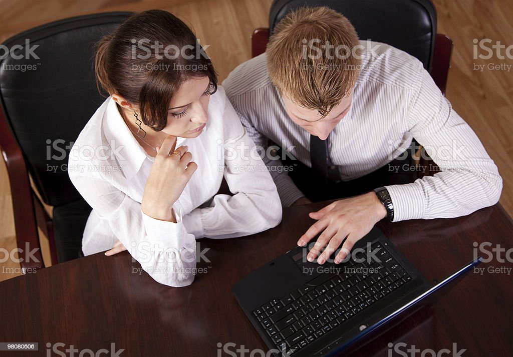 office workers royalty-free stock photo