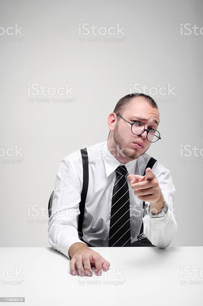 Officeman royalty-free stock photo