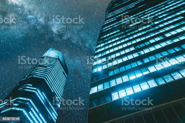 Photo of Offices at night