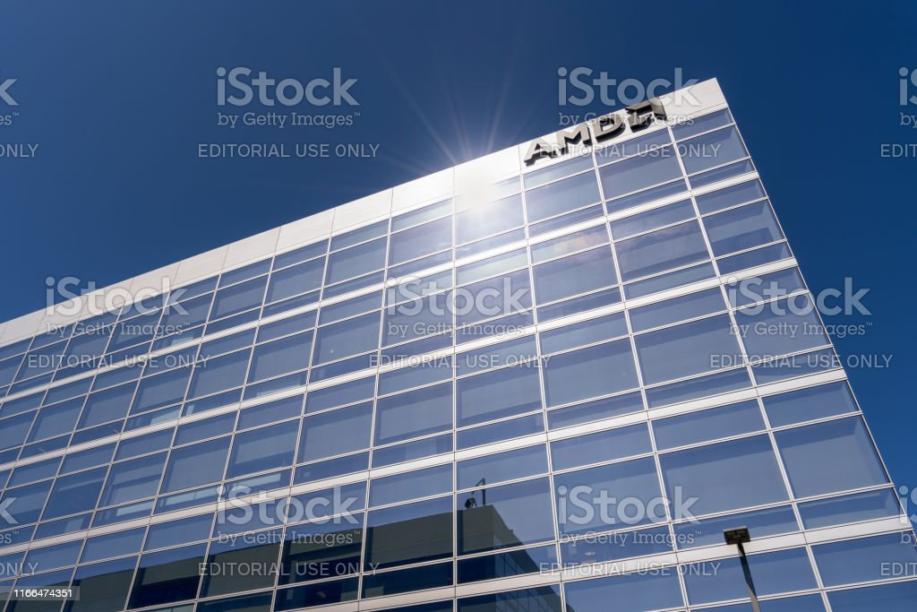 Amd Offices Located In Silicon Valley Stock Photo Download Image Now Istock