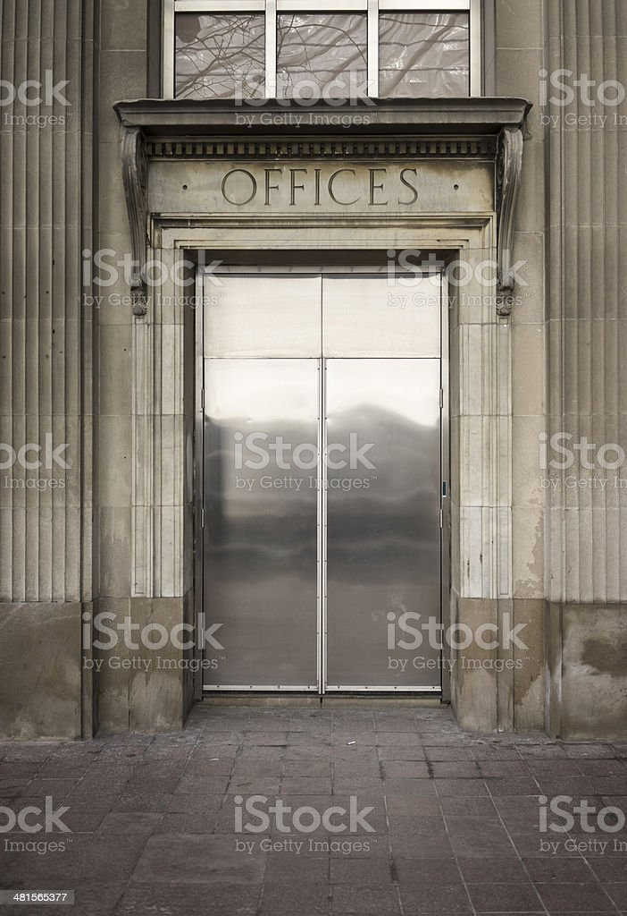 Offices royalty-free stock photo