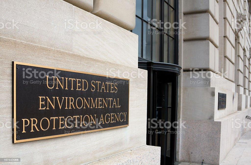 EPA Offices, Washington DC royalty-free stock photo