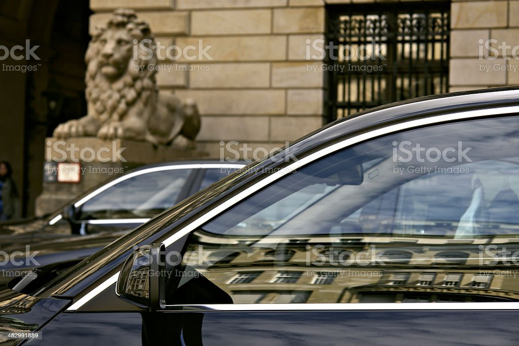 Official Cars royalty-free stock photo