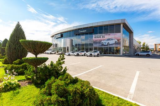 istock Official dealer Lexus in Samara, Russia 857116792